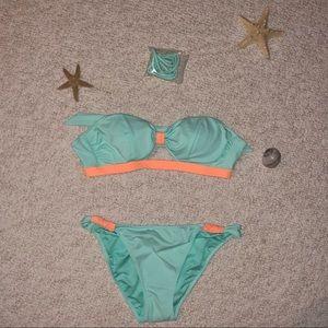 bandeau swimsuit, never worn
